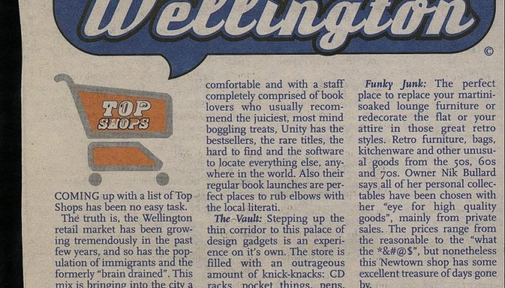 Best of Wellington, City Voice, 21st June 2001
