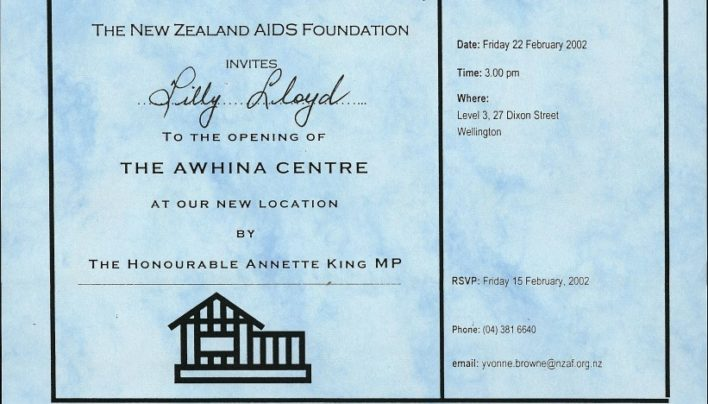 Awhina Centre Opening, 22nd February 2002