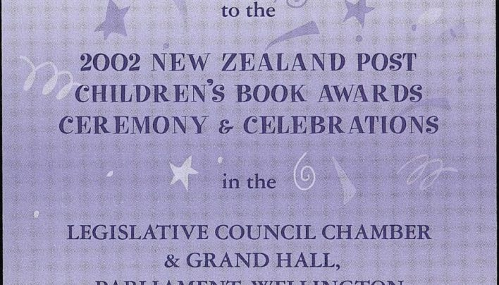 New Zealand Post Children's Book Awards, 27th March 2002