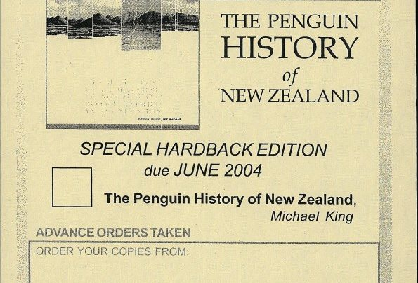 Michael King order form, June 2004
