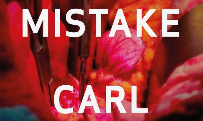 Launch | A Mistake by Carl Shuker | Wednesday 6th March, 6-7:30pm | In-store at Unity Books Wellington