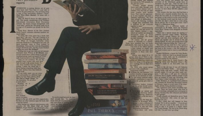 """""""By the Book"""", Sunday Star-Times 4th July 1999"""