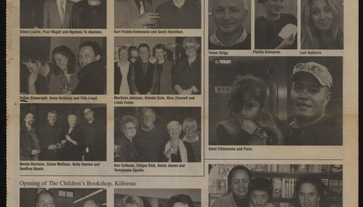 Alexander Turnbull Library events, Capital Times, 27th November 2002