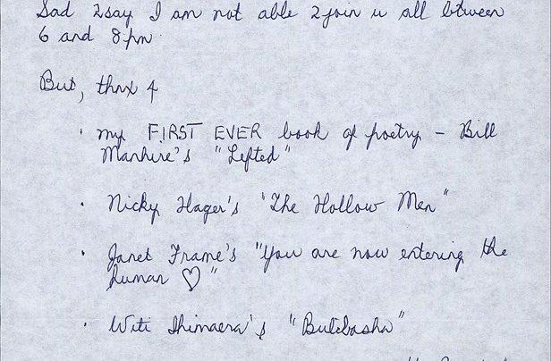 Birthday Letter 13th September 2007
