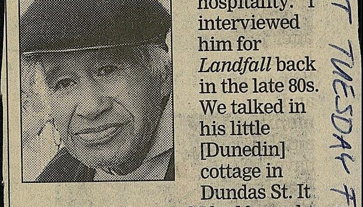 Hone Tuwhare obituary, Dominion Post, 12th February 2008