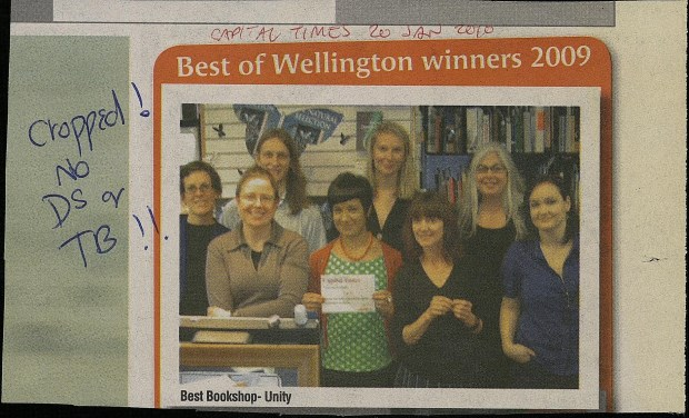 Best Bookshop, Capital Times, 20th January 2010