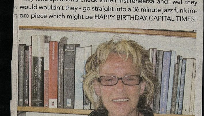 Happy Birthday Capital Times, 13th October 2010