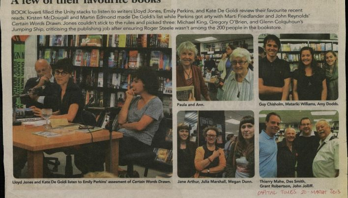 New Zealand Book Day, 20th March 2013
