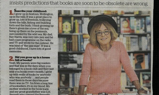 12 Questions with Jo McColl, NZ Herald, September 4th 2014
