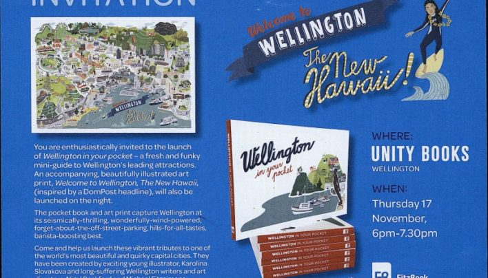 Wellington In Your Pocket invitation, 17th November 2016