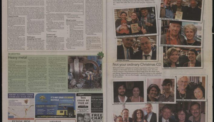 Truth launch, Capital Times, 24th November 2010