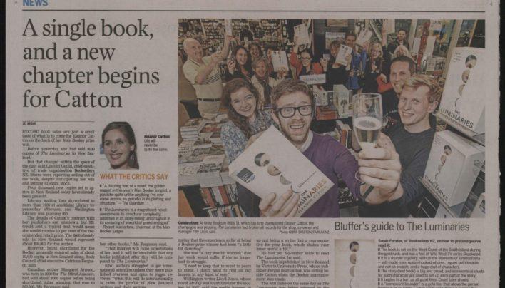 Eleanor Catton wins Man Booker Prize, 17th October 2013