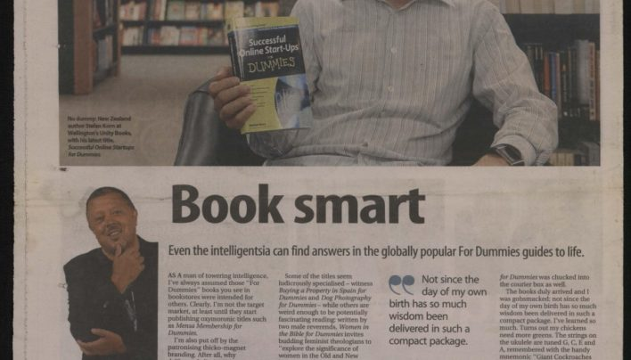 """Book Smart"", Sunday Star-Times, 31st March 2013"