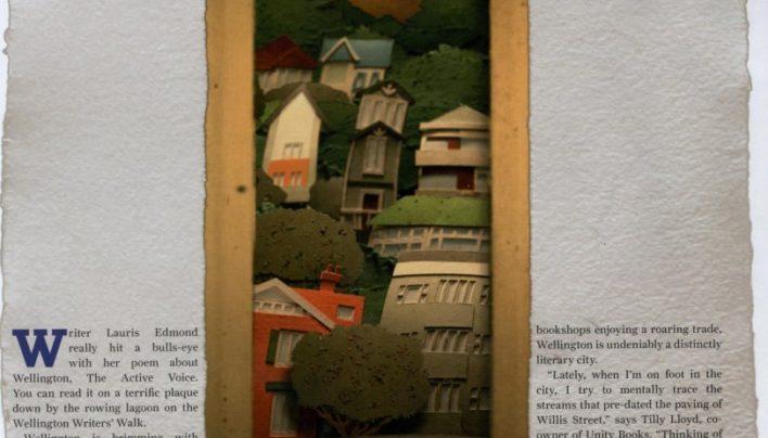 """The Literary City"", Fishhead magazine, August/September 2010"