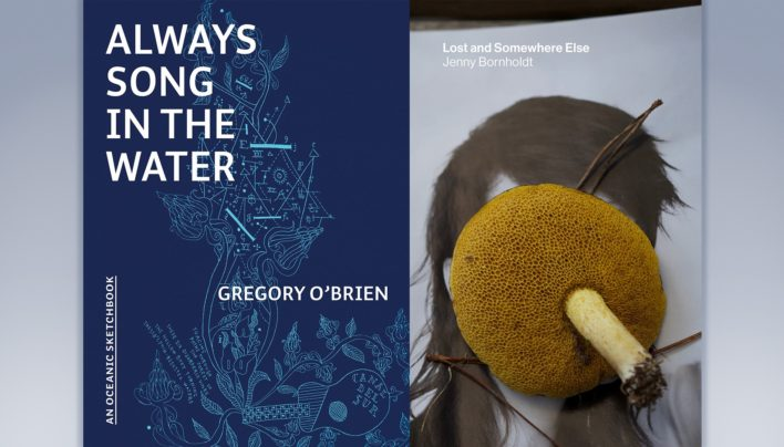 Double Launch | Lost and Somewhere Else by Jenny Bornholdt & Always Song in the Water by Gregory O'Brien | 6-7:30pm Thursday 19th September