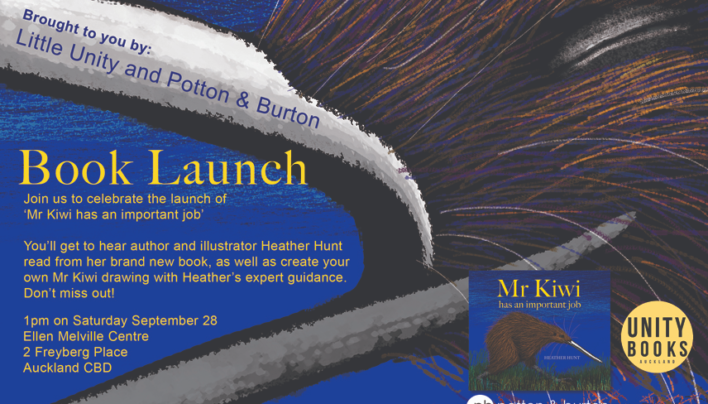 Offsite Auckland Book Launch: Mr Kiwi Has An Important Job | 1pm Saturday 28th September
