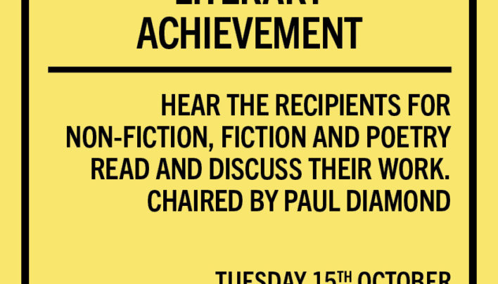 Lunchtime Event | Prime Minister's Awards for Literary Achievement | 12-12:45pm Tuesday 15th October